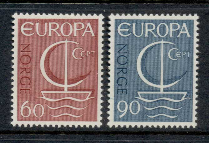 Norway 1966 Europa MLH