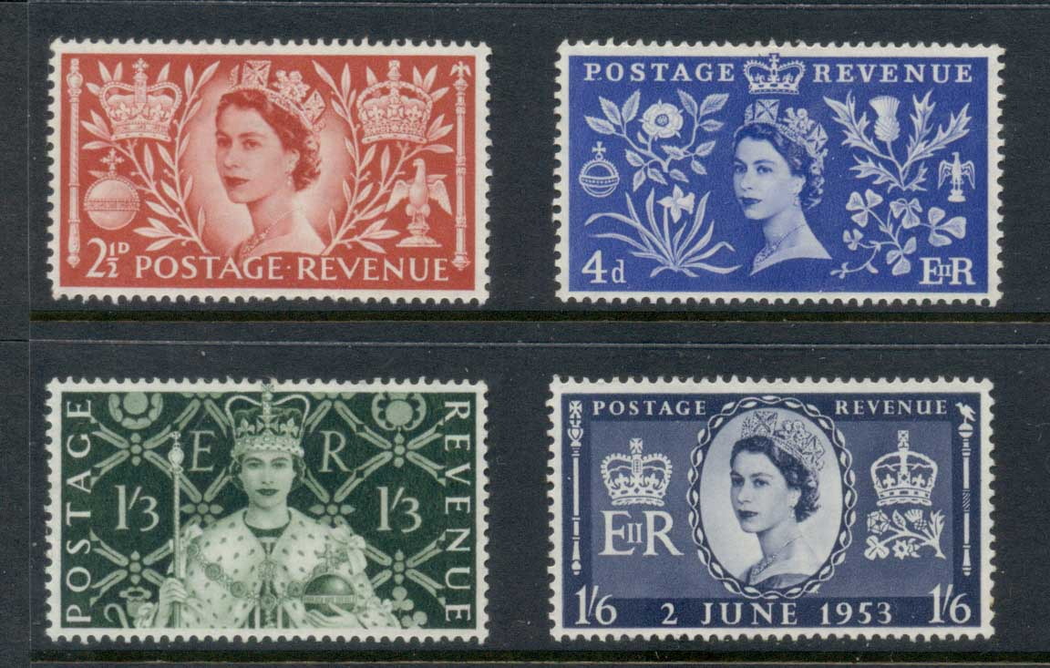 GB 1953 QEII Coronation MLH