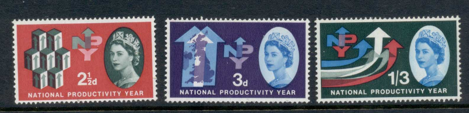 GB 1962 National Productivity year MLH