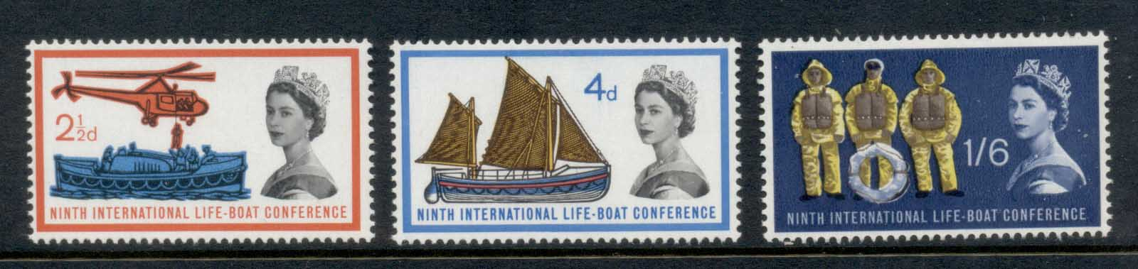 GB 1963 Lifeboat Centenary MLH