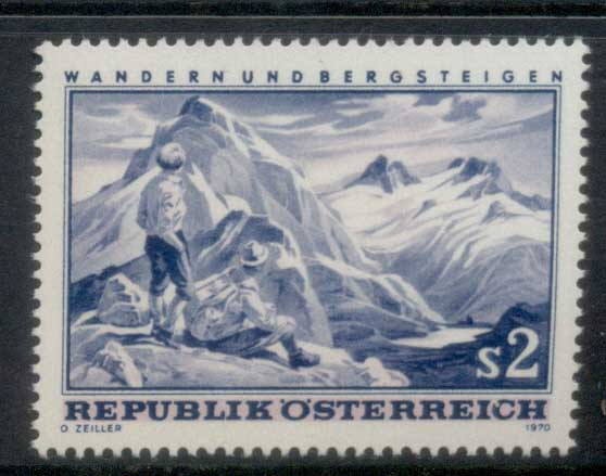 Austria 1970 Hiking & Mountaineering MLH