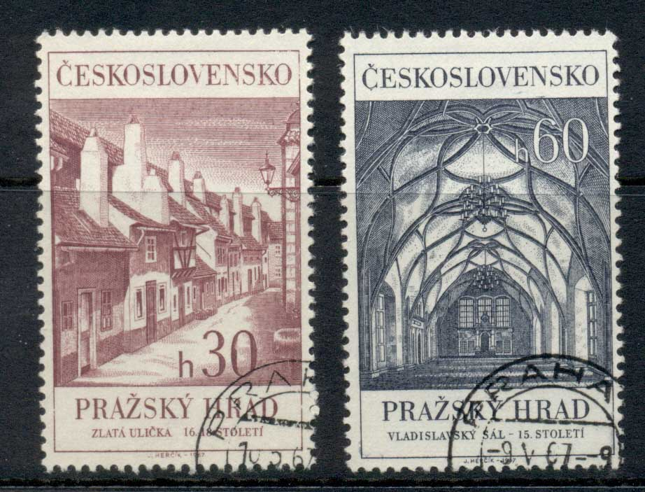 Czechoslovakia 1967 Prague Cathederal CTO