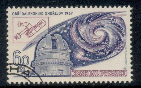 Czechoslovakia 1967 Astronomical Union CTO