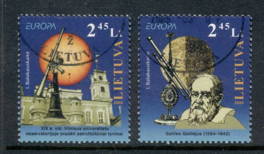 Lithuania 2009 Europa Space & Astronomy FU