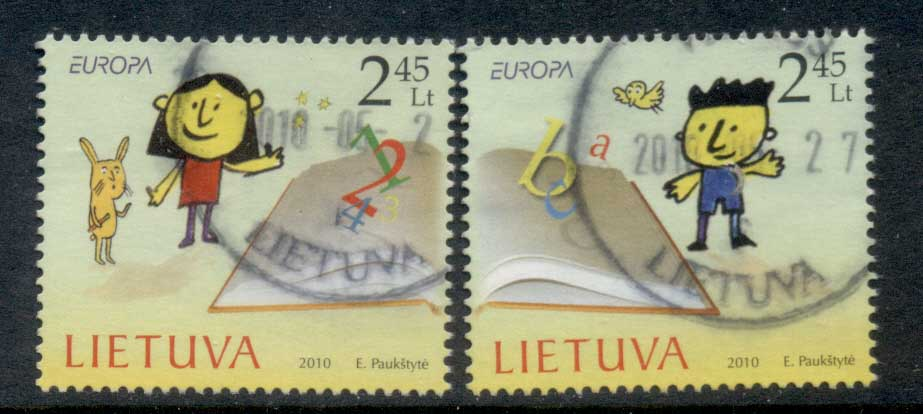 Lithuania 2010 Europa Children's Books FU