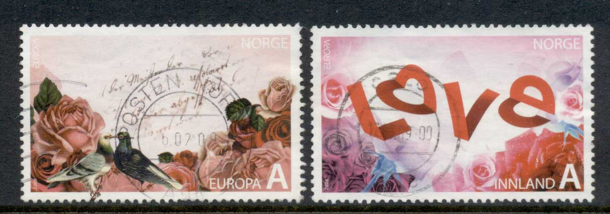 Norway 2008 Europa The Letter FU