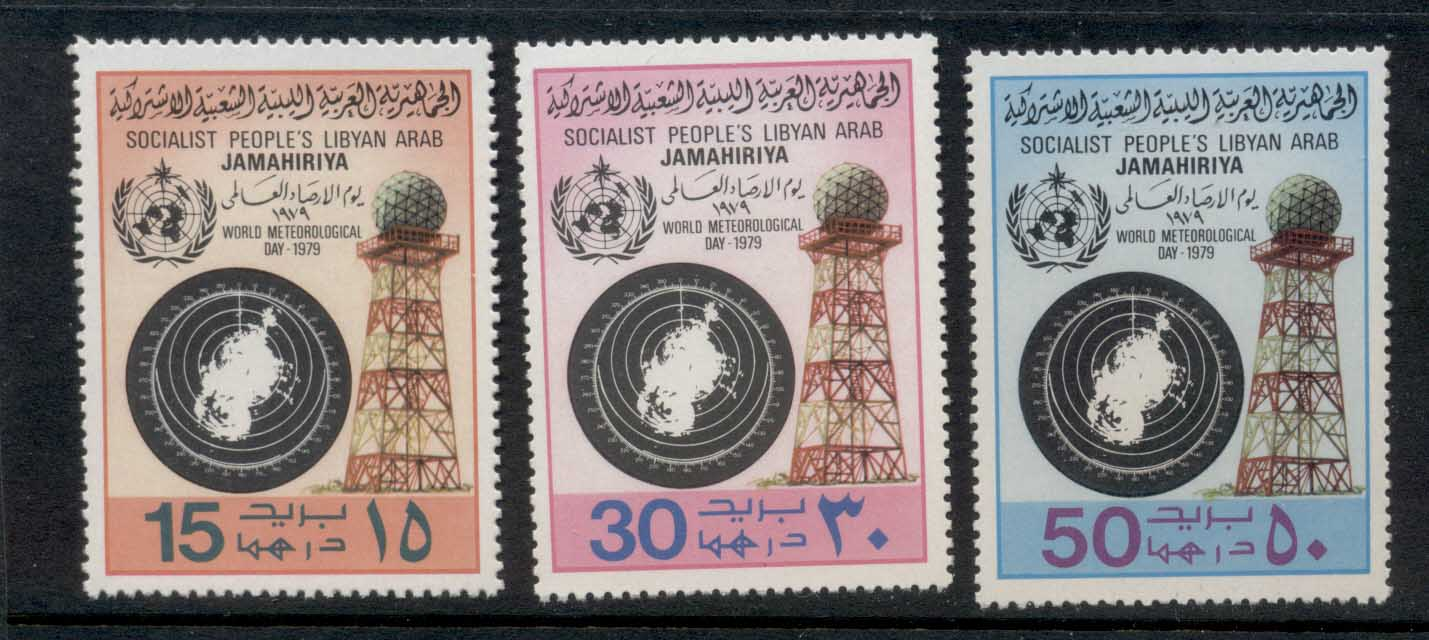 Libya 1979 World Meterological Day MUH