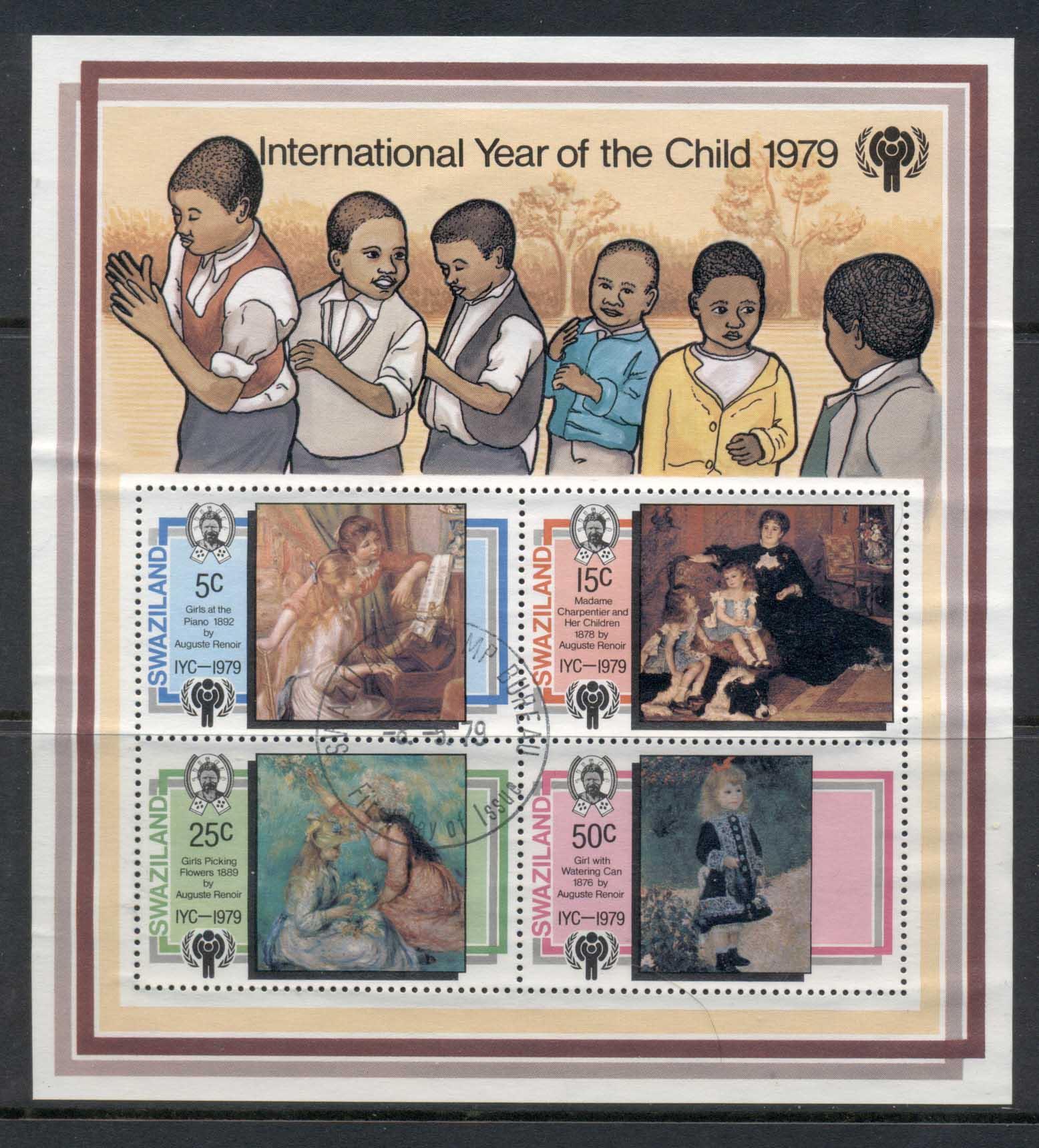 Swaziland 1979 IYC International year of the Child MS FU