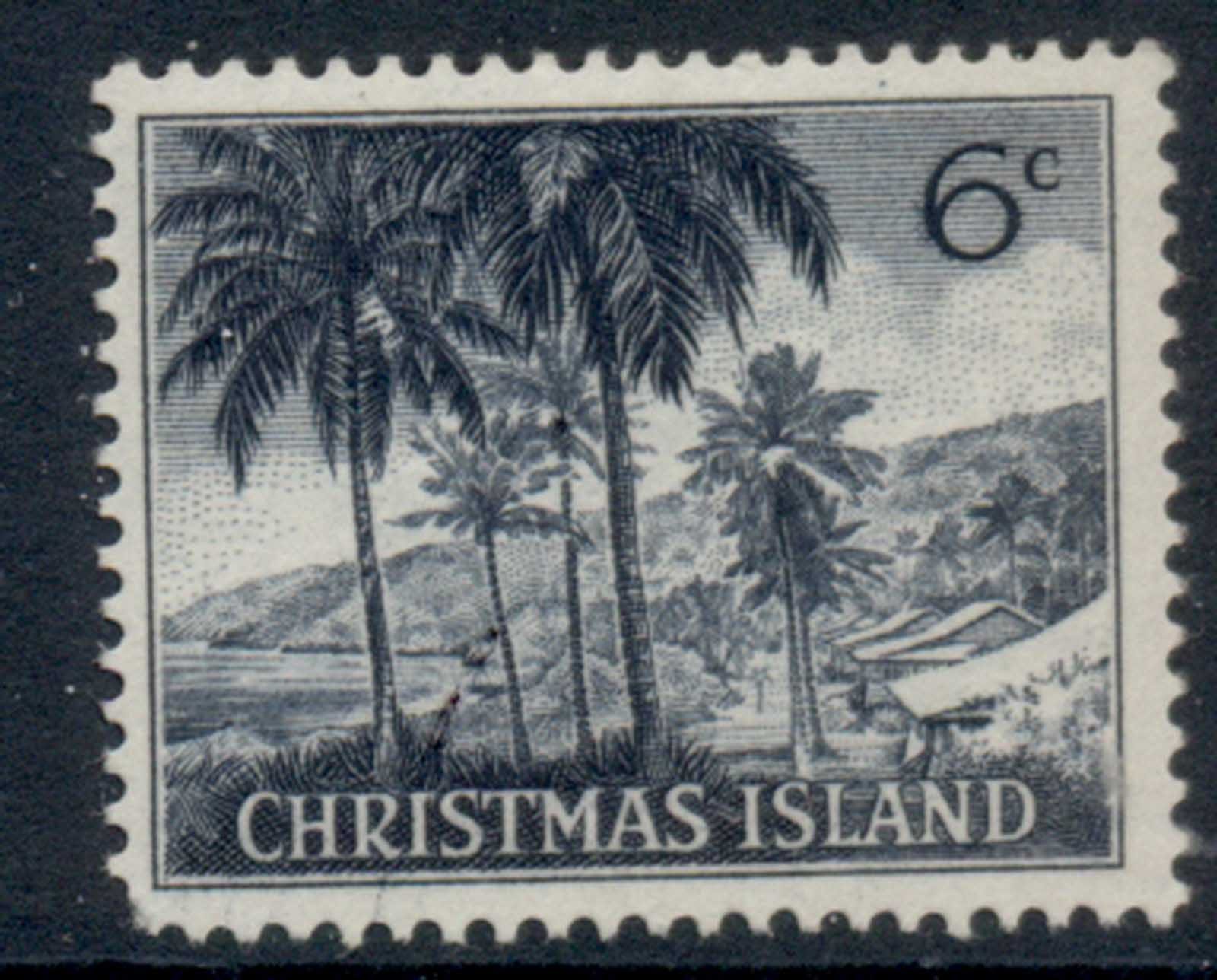 Christmas Is 1963 QEII Pictorials 6c MLH