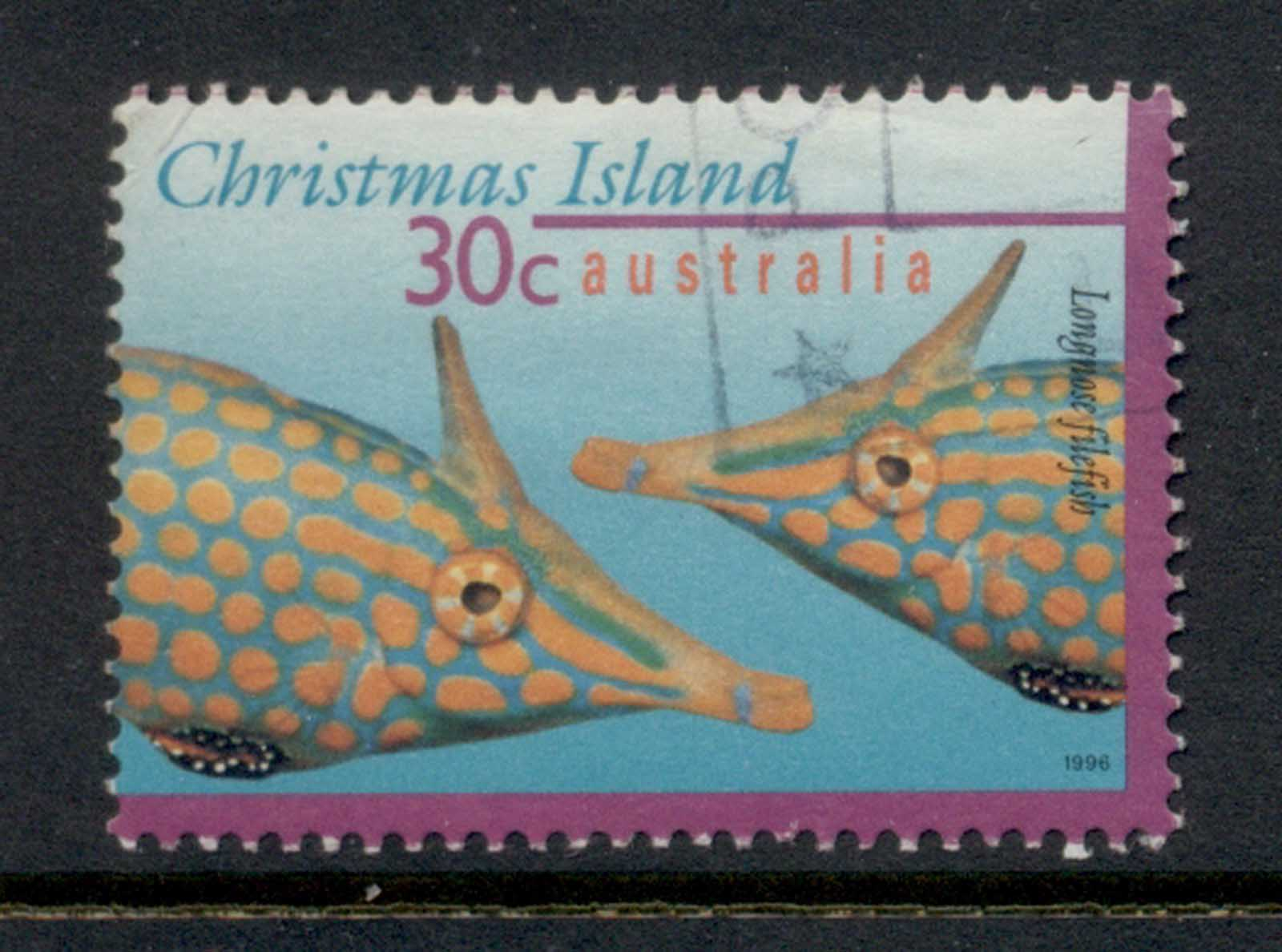 Christmas Is 1996-97 Marine Life Fish 30c FU