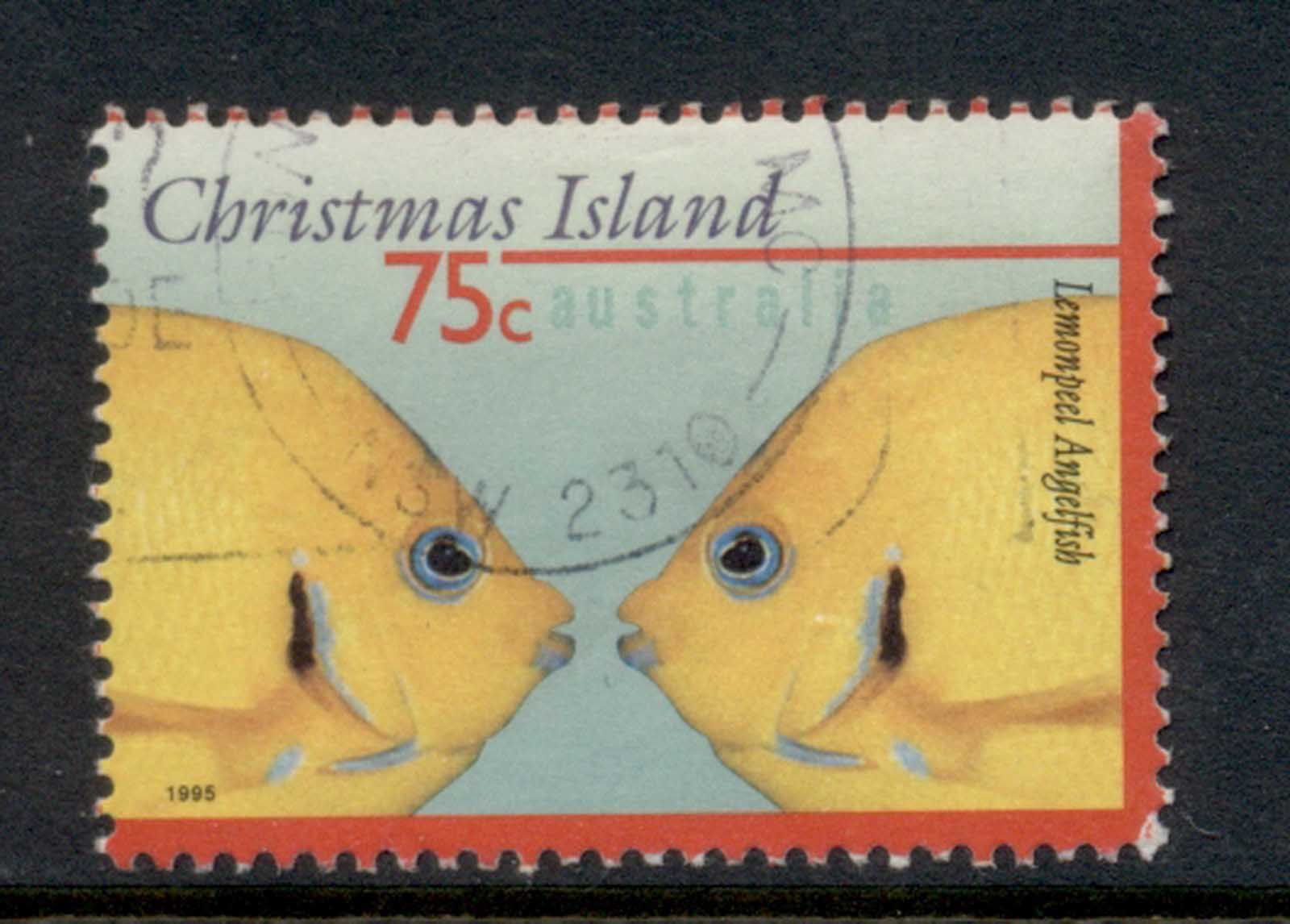 Christmas Is 1995 Marine Life Fish 75c FU