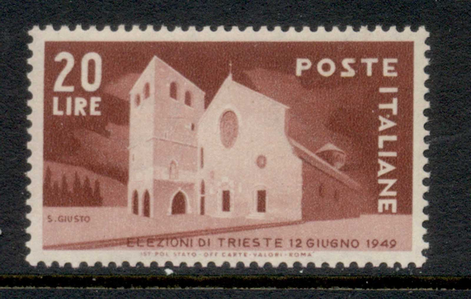 Italy 1949 Trieste Election MUH