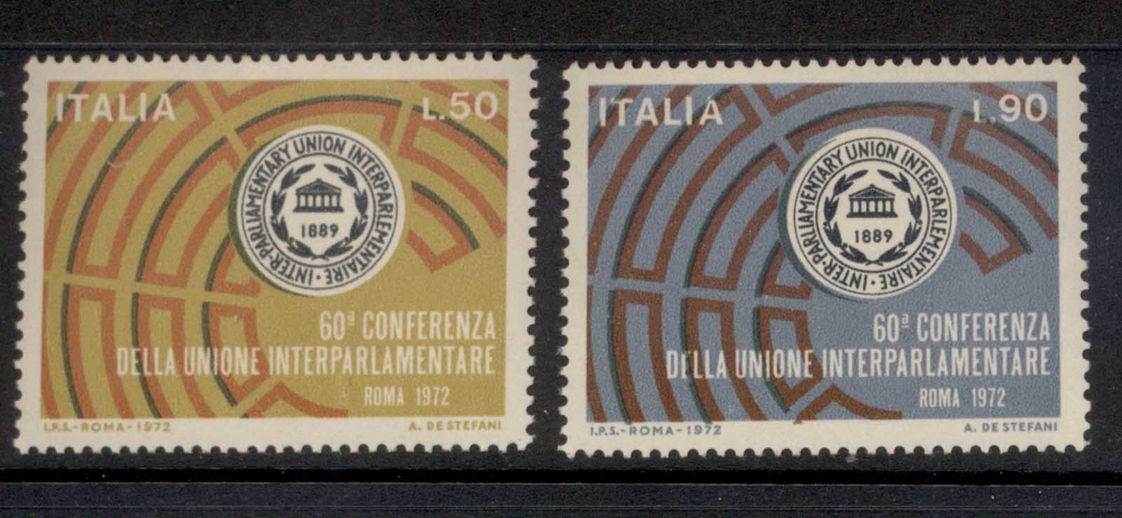 Italy 1972 Inter Parliamentary Union MUH