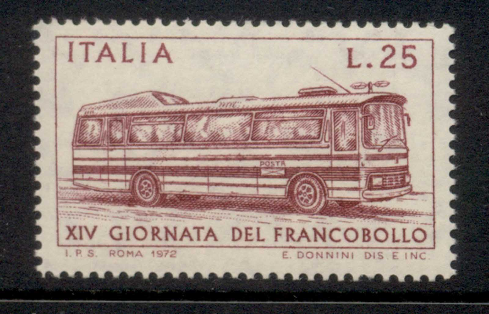 Italy 1972 Stamp day MUH
