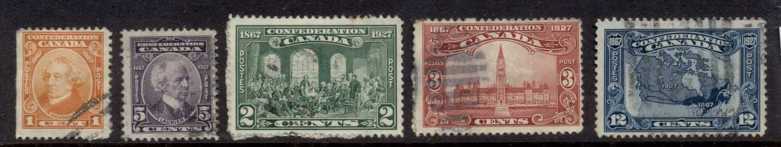 Canada 1927 Canadian federation (paper adhesions) FU