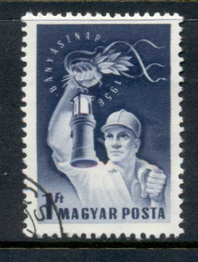Hungary 1956 Miners Day CTO