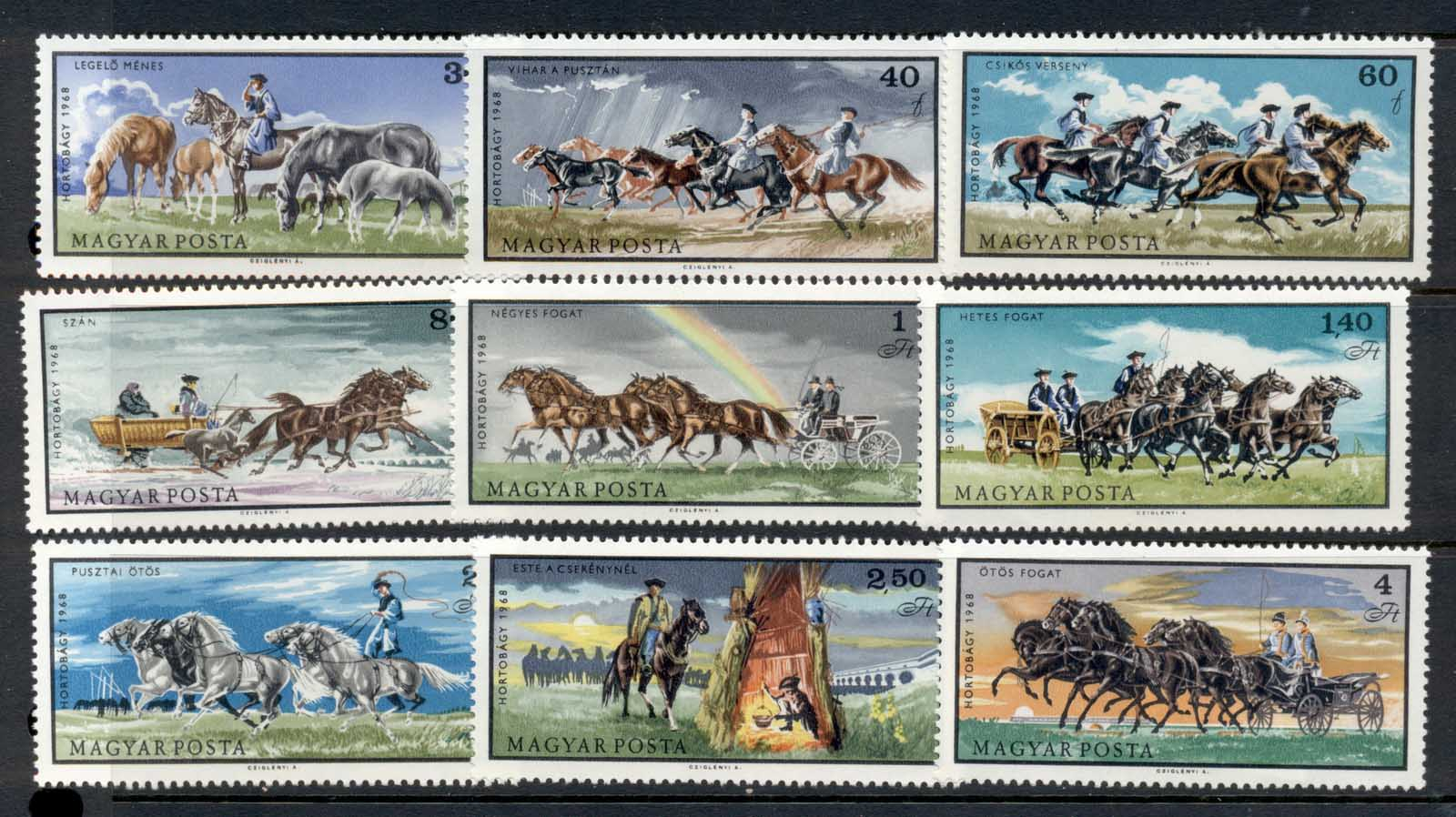 Hungary 1968 Horse Breeding on the Hungarian Steppe MUH
