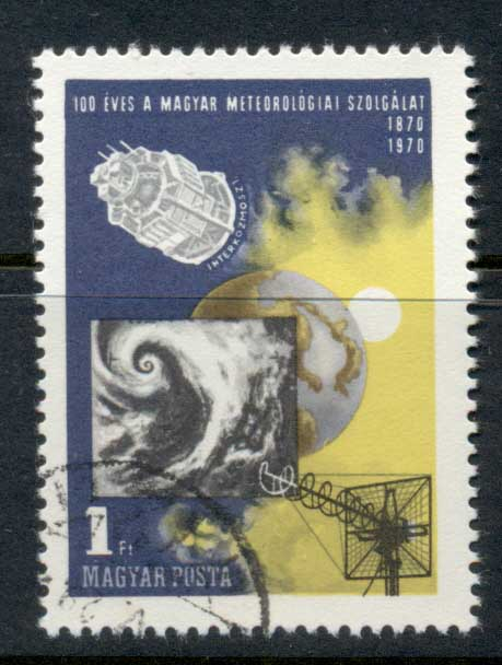 Hungary 1970 Meterological ServiceCTO