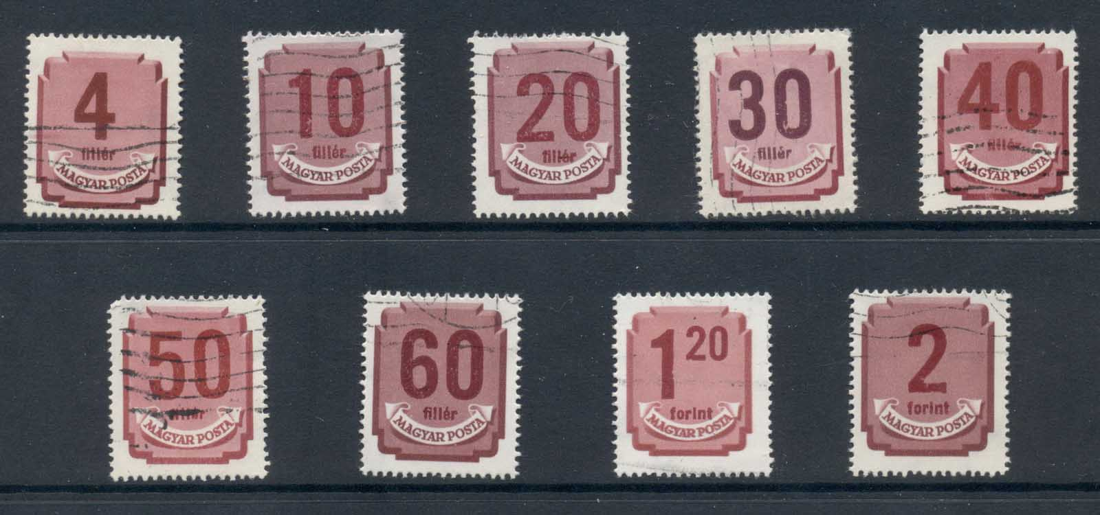 Hungary 1946-51 Postage Dues Asst FU