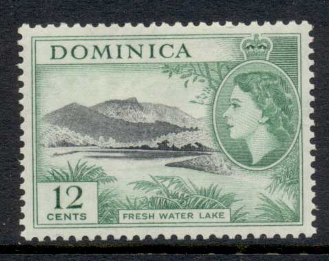 Dominica 1954 QEII Pictorial 12c MLH