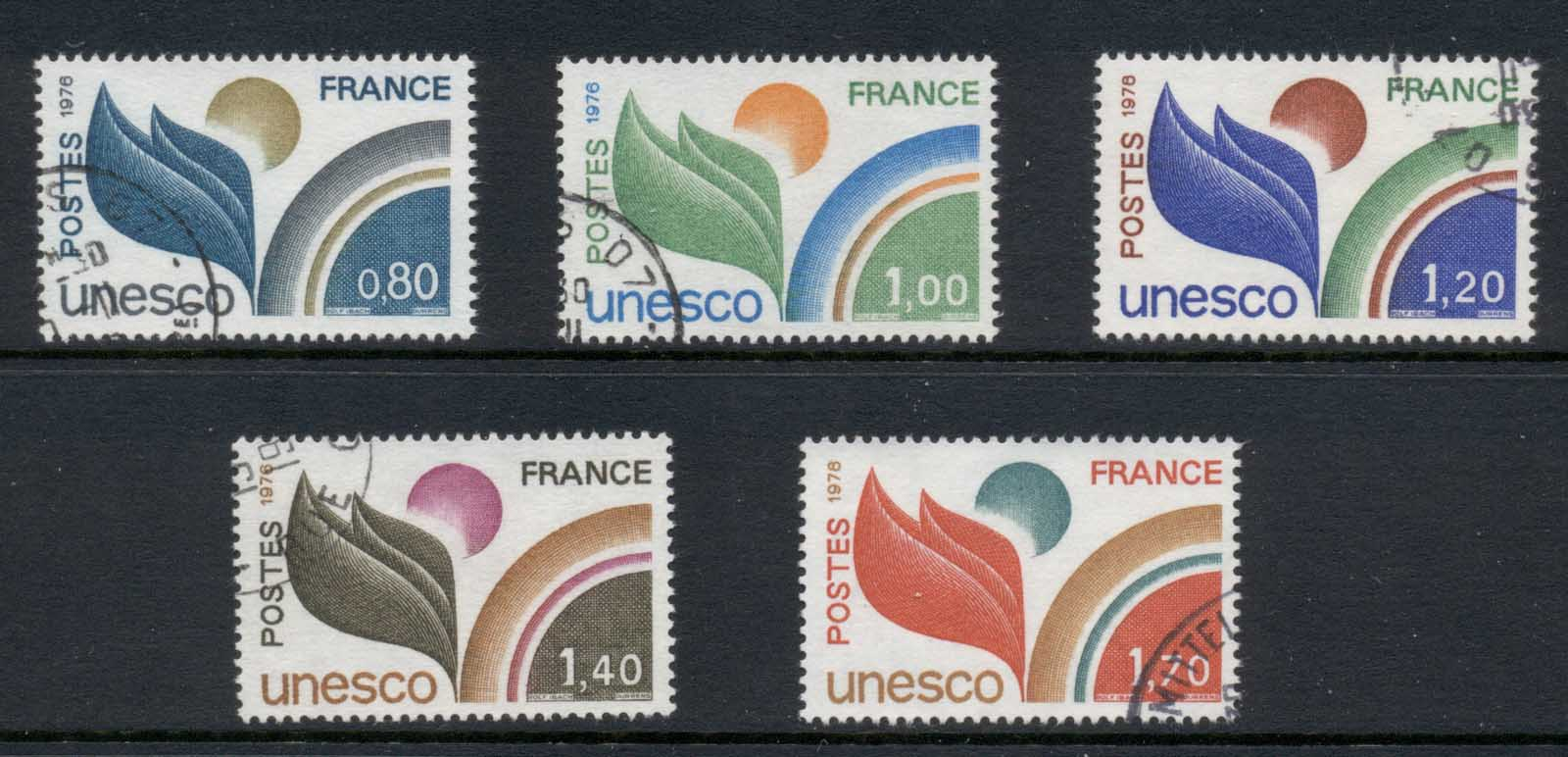 France 1976-78 UNESCO FU