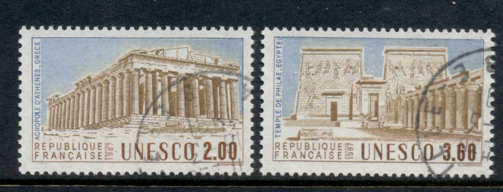France 1987 UNESCO FU