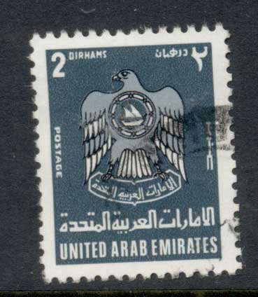UAE 1977 Coats of Arms 2d FU