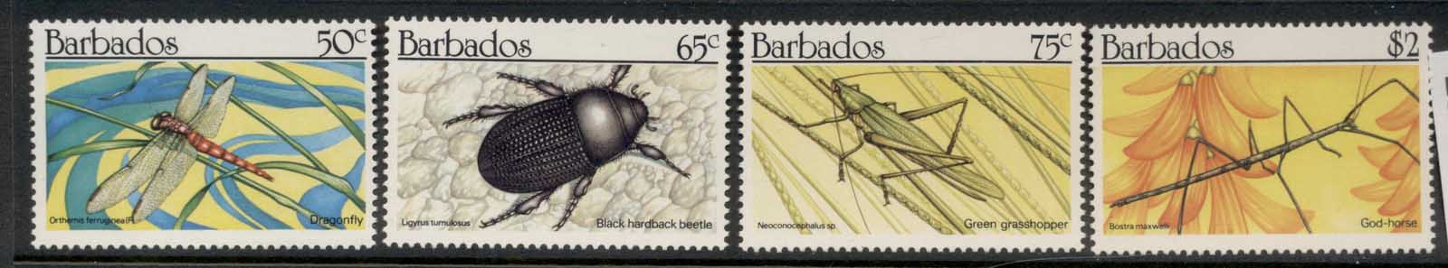Barbados 1990 Insects MUH