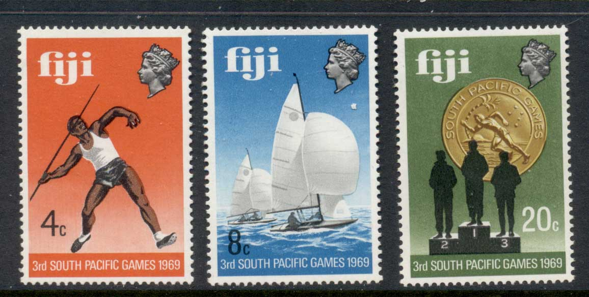 Fiji 1969 South Pacific Games MUH