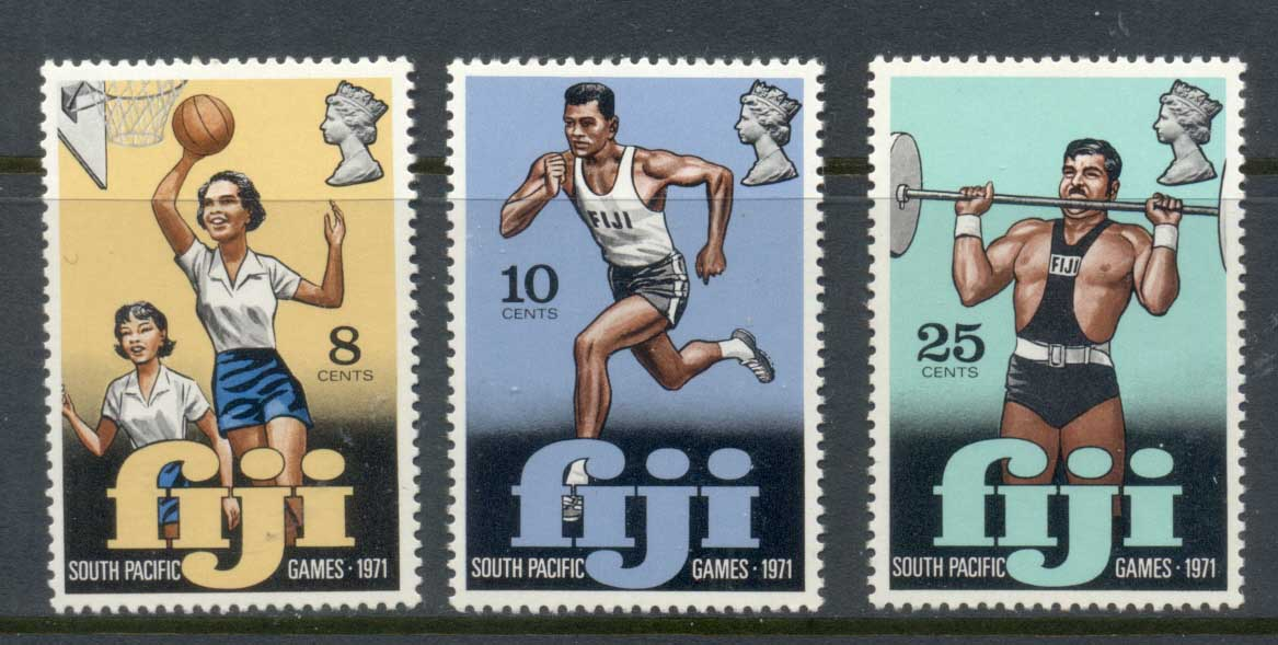 Fiji 1971 South Pacific Games MUH