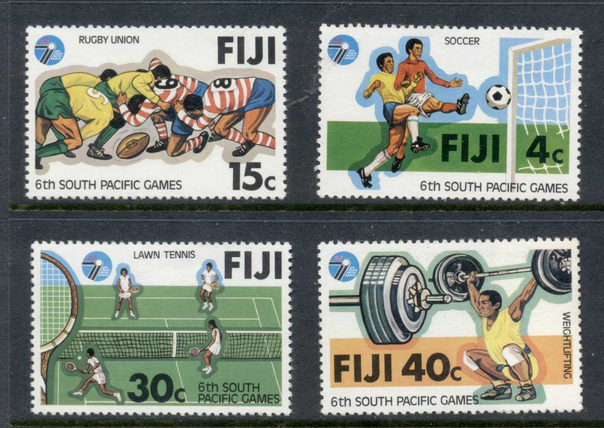 Fiji 1979 South Pacific Games MUH