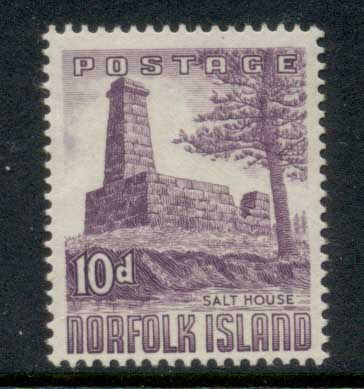 Norfolk is 1953 Salthouse 10d MLH