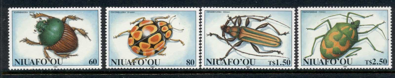 Tonga Niuafo'ou 1994 Insects, Beetles MUH