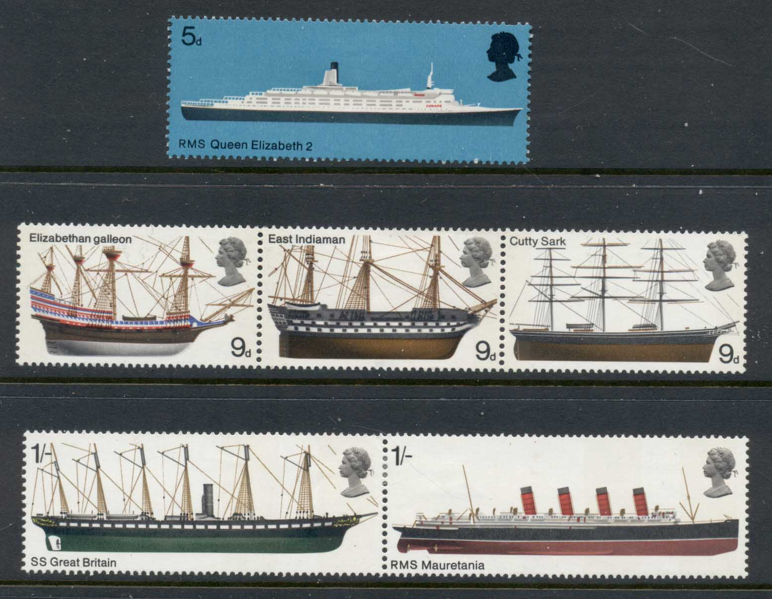 GB 1969 British Ships MLH