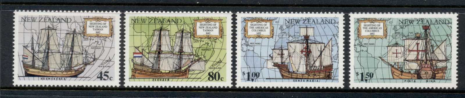 New Zealand 1992 Discovery of America, Columbus MLH