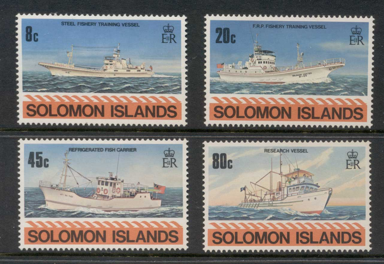 Solomon Is 1980 Ships MLH