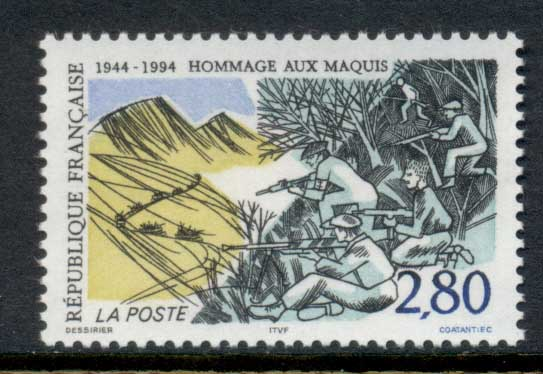 France 1994 Resistance of the maquis MUH