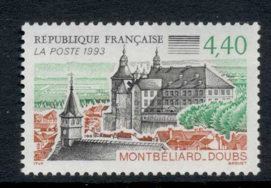 France 1993 Tourism, Montbeliard MUH
