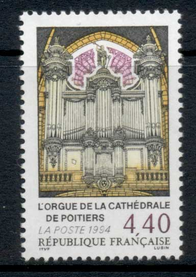 France 1994 Poitiers Cathederal Organ MUH