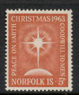 Norfolk Is 1963 Xmas MLH