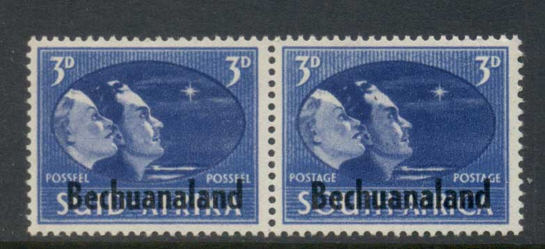 Bechuanaland Protectorate 1945 Victory 3d pr MLH