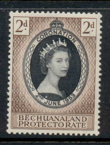 Bechuanaland Protectorate 1935 Coronation MLH