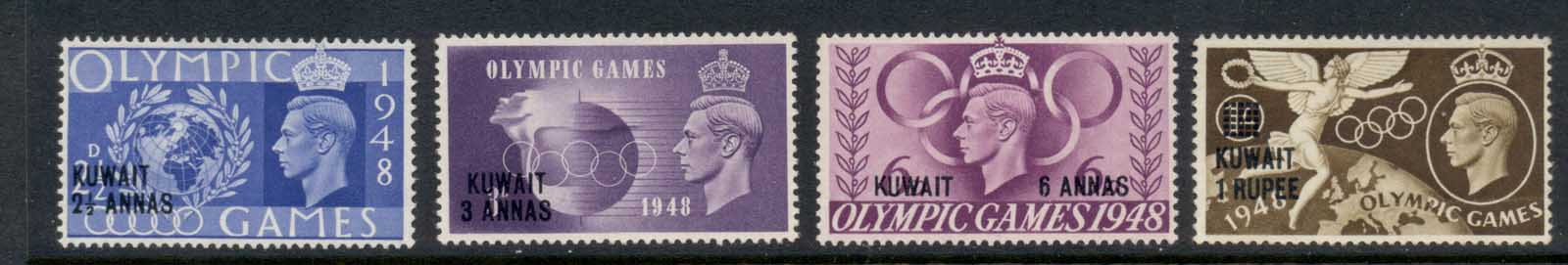Kuwait 1948 Olympics MLH/MNG