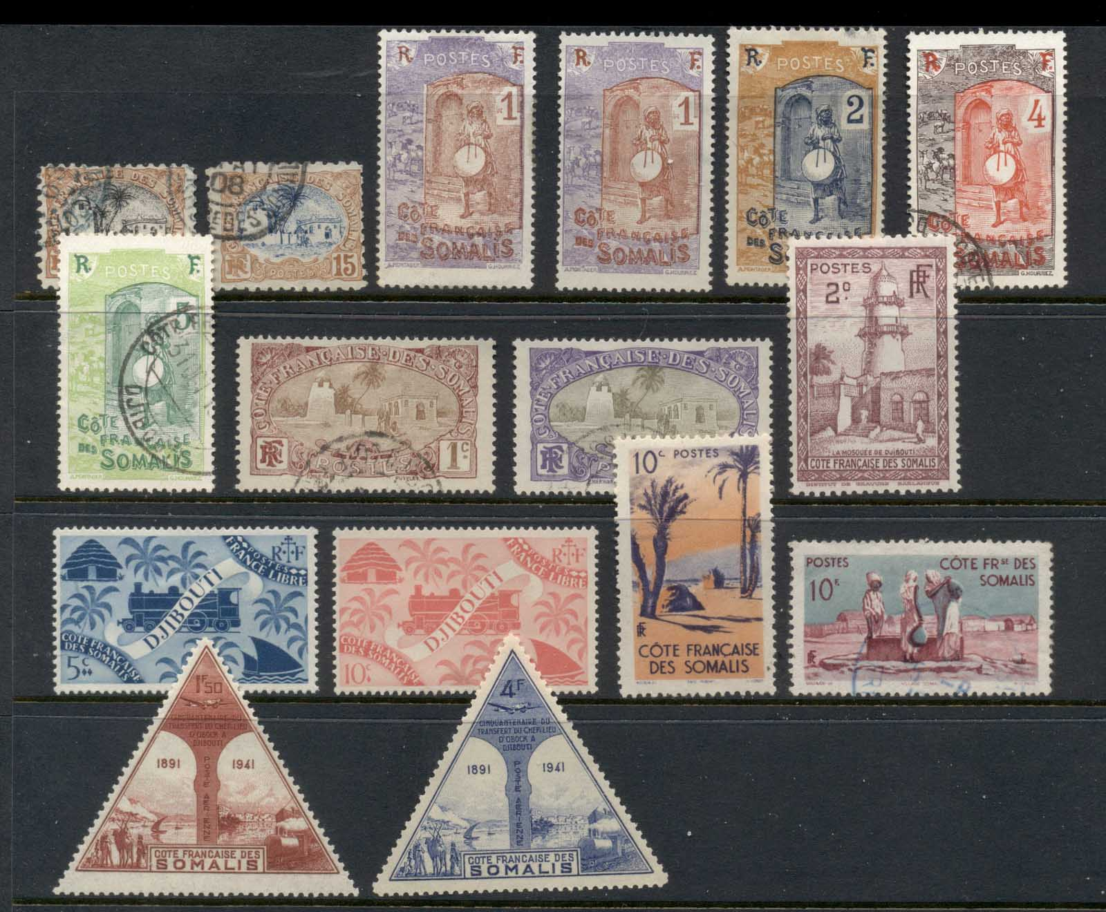 Somali Coast 1902 on Assorted Oddments