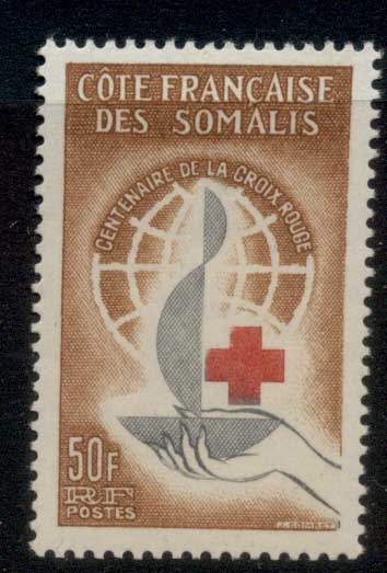 Somali Coast 1963 Red Cross Centenary MUH