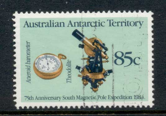 AAT 1984 South Magnetic Pole Expedition FU