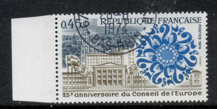 France 1974 Council of Europe CTO