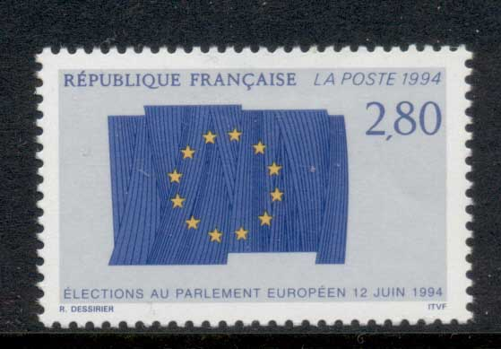 France 1994 European parliamentary Elections MUH