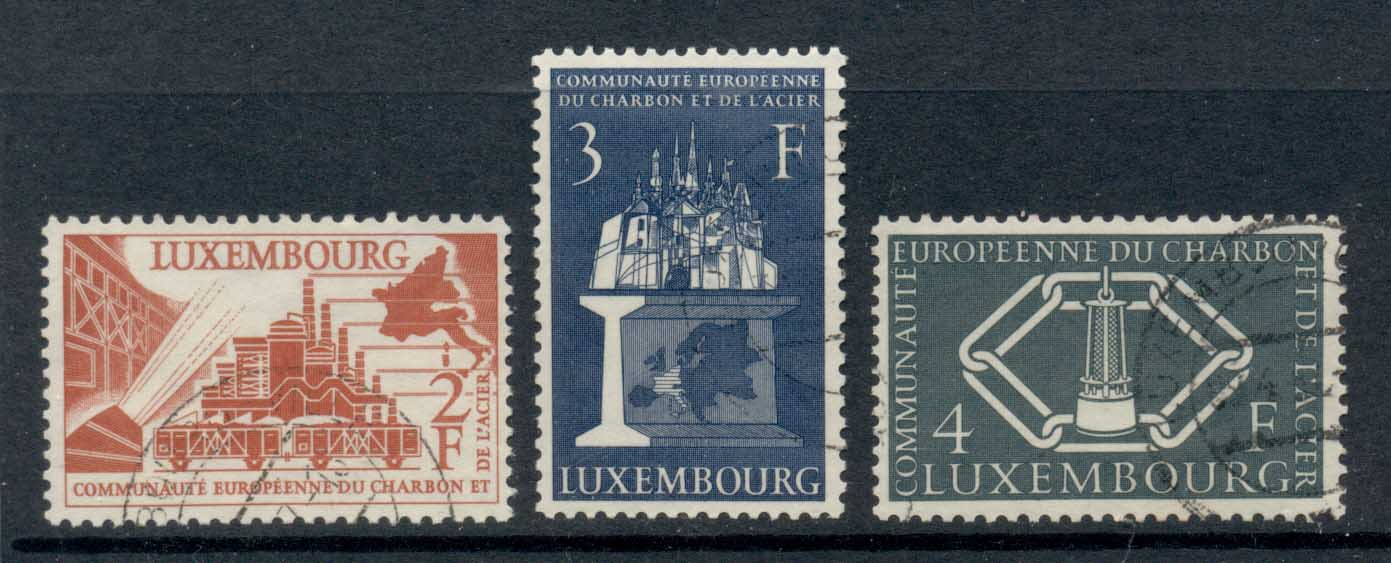 Luxembourg 1956 Coal & Steel FU