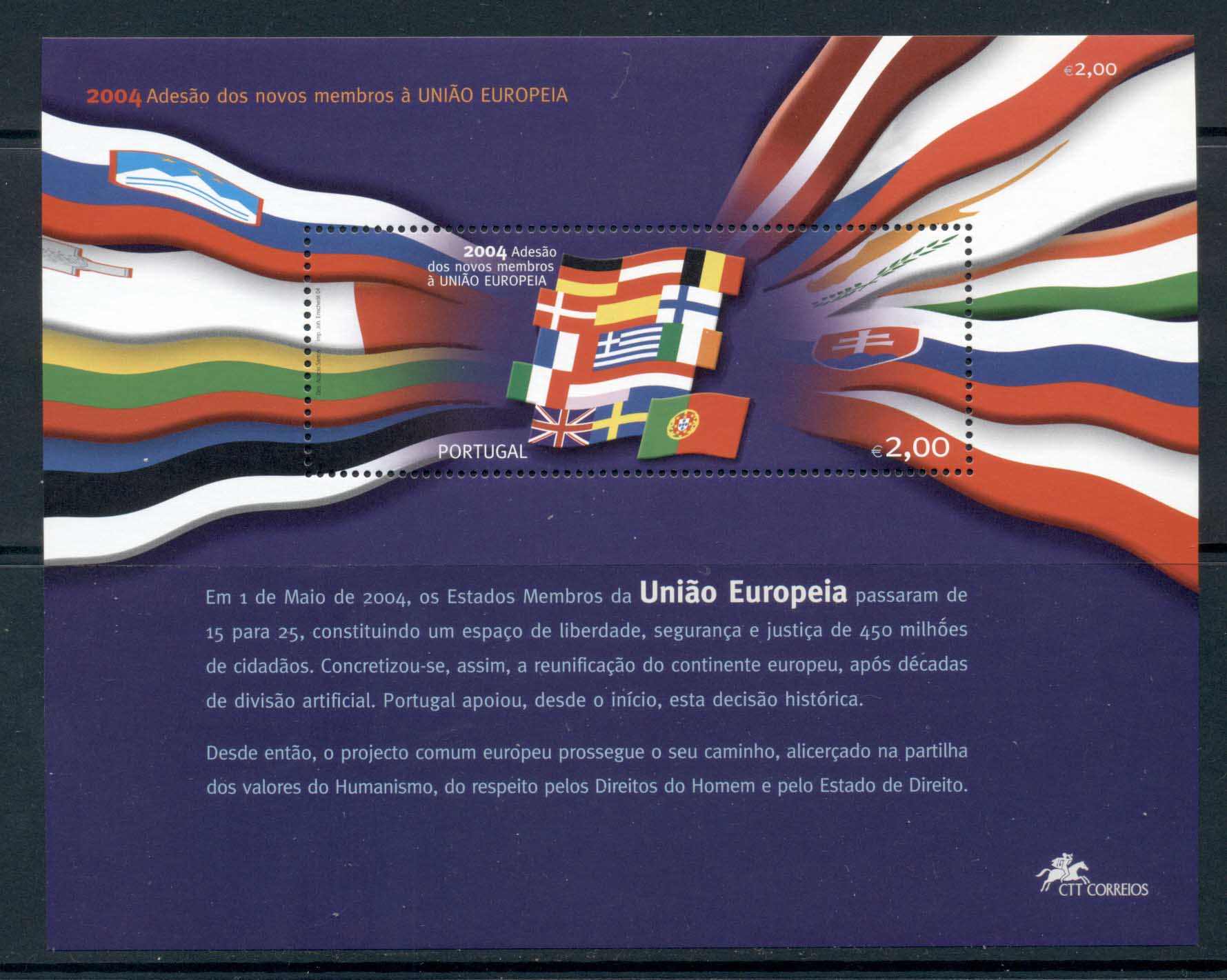Portugal 2004 Expansion of the EU MS MUH